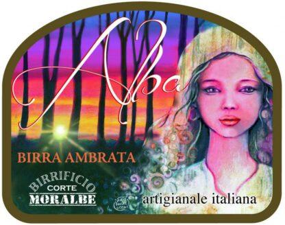 Alba Birra Ambrata 75cl-291