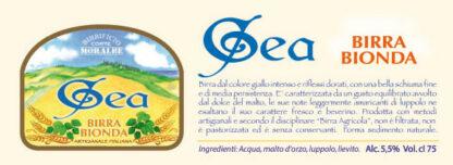 Gea Birra Bionda 75 cl-286